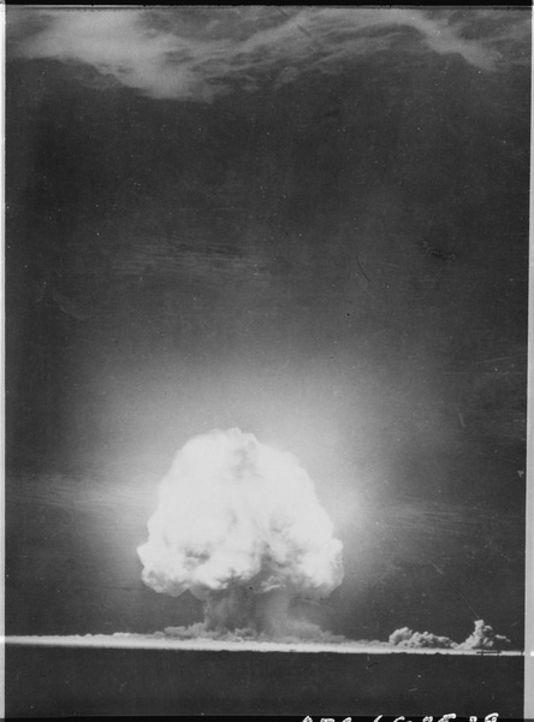 Explosion nucléaire 1945