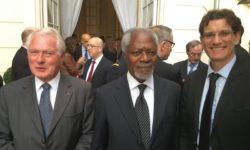 Rencontre avec Kofi Annan