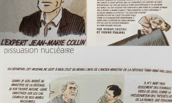 Paul Quilès et Jean-Marie Collin en bande dessinée