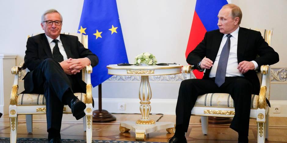 La relation entre l'UE et la Russie en crise
