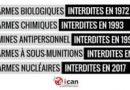 Refuser les armes chimiques ET les armes nucléaires