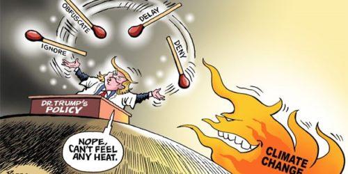 La politique du Docteur Trump
