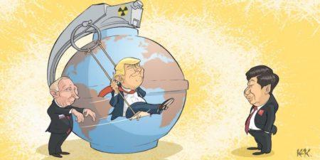 La dissuasion nucléaire n'existe plus,  mais les armes nucléaires subsistent