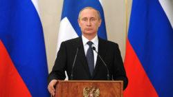 Vladimir Poutine présente sa nouvelle doctrine nucléaire.