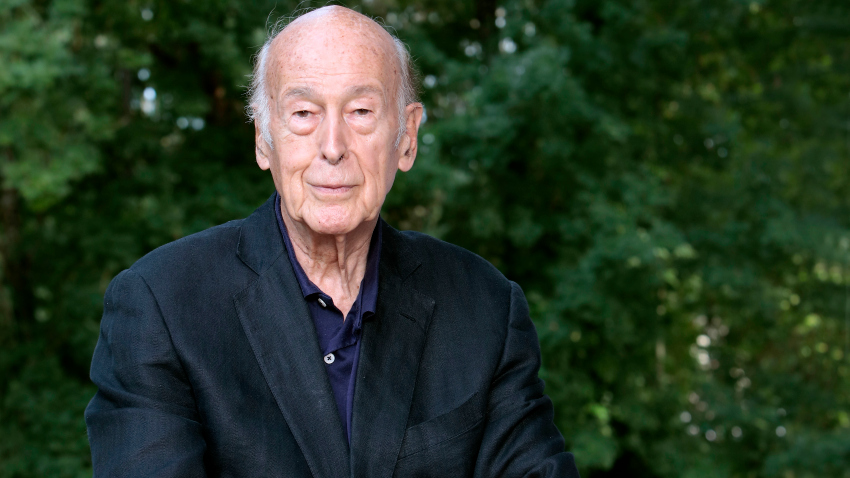 France- Portraiture-Valery Giscard d'Estaing