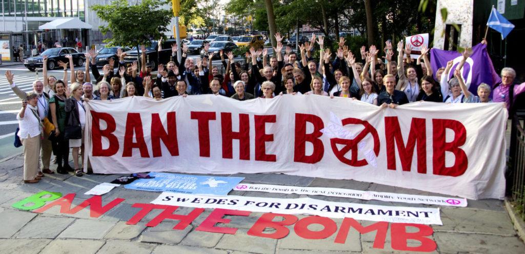 Le 22 janvier 2021, le TIAN rendra illégale l'arme nucléaire.