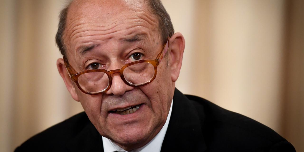 Jean-Yves Le Drian, ministre de l'Europe et des Affaires étrangères de la France